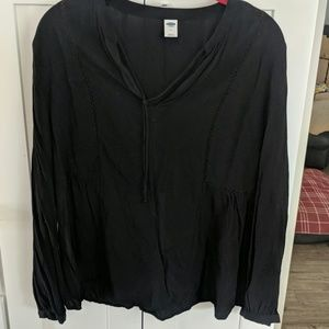 3/$12 Old Navy Black Tunic Top
